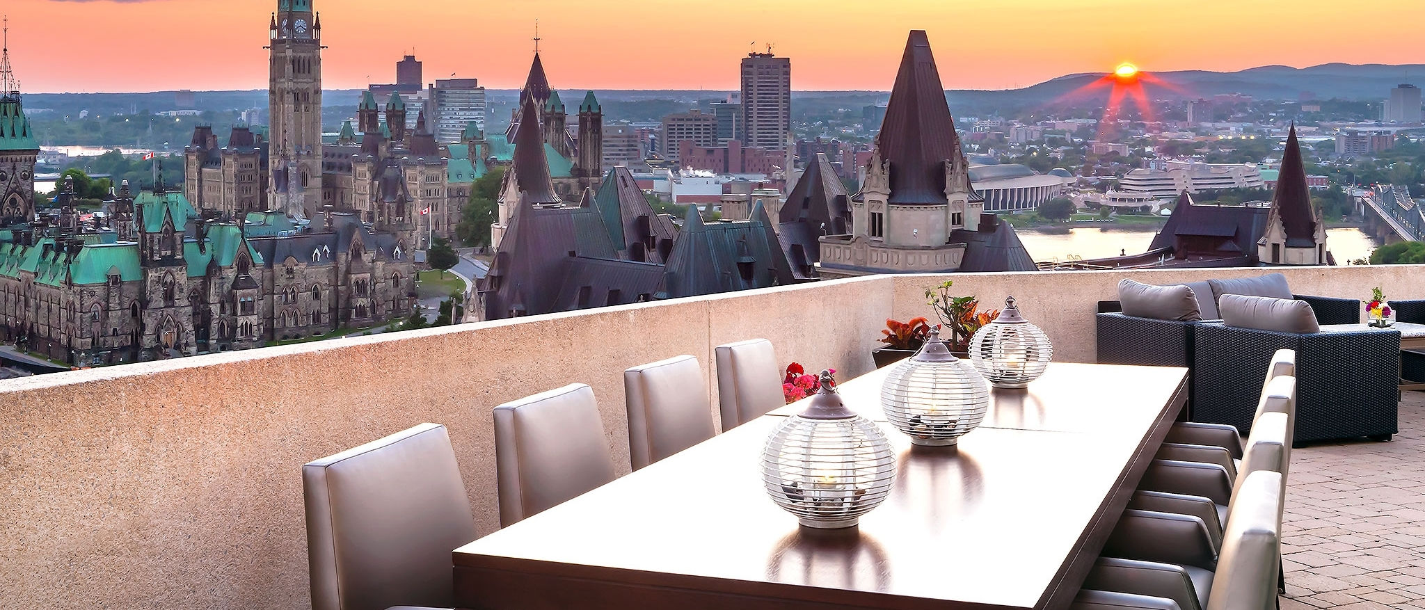 The Westin Ottawa - 23rd Floor Deck